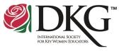 DKG newsletter logo